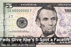 Feds Give Abe's 5-Spot a Facelift