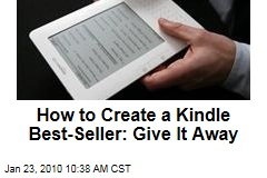 How to Create a Kindle Best-Seller: Give It Away