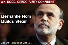 Bernanke Nom Builds Steam