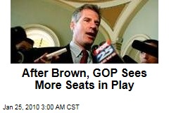 After Brown, GOP Sees More Seats in Play