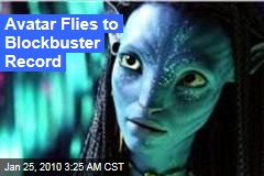 Avatar Flies to Blockbuster Record