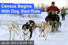 Census Begins With Dog Sled Ride