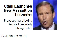 Udall Launches New Assault on Filibuster