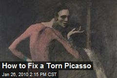 How to Fix a Torn Picasso