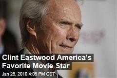 Clint Eastwood America's Favorite Movie Star