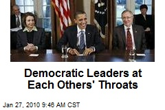 Democratic Leaders at Each Others' Throats