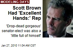 Scott Brown Had 'Excellent Hands:' Rep
