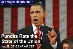Pundits Rate the State of the Union
