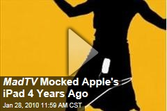 MadTV Mocked Apple's iPad 4 Years Ago