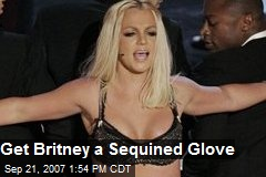 Get Britney a Sequined Glove