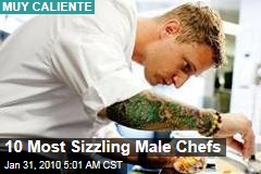 10 Most Sizzling Male Chefs