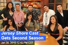 Jersey Shore Cast Gets Second Season