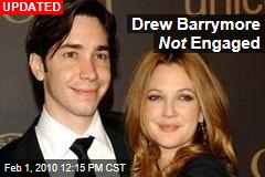 Drew Barrymore Not Engaged