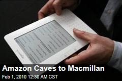 Amazon Caves to Macmillan