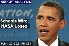 Schools Win; NASA Loses