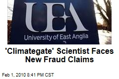 'Climategate' Scientist Faces New Fraud Claims