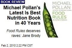 Michael Pollan's Latest Is Best Nutrition Book in 40 Years