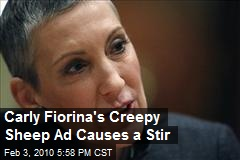 Carly Fiorina's Creepy Sheep Ad Causes a Stir