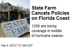State Farm Cancels Policies on Florida Coast