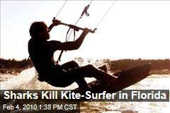 Sharks Kill Kite-Surfer in Florida