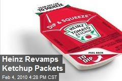 Heinz Revamps Ketchup Packets