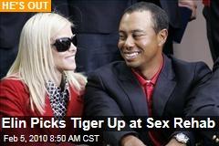 Elin Picks Tiger Up at Sex Rehab