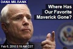 Where Has Our Favorite Maverick Gone?