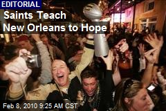 Saints Teach New Orleans to Hope
