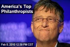 America's Top Philanthropists