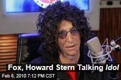 Fox, Howard Stern Talking Idol