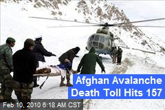Afghan Avalanche Death Toll Hits 157