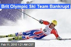 Brit Olympic Ski Team Bankrupt