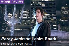 Percy Jackson Lacks Spark