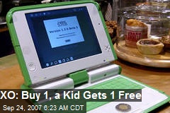 XO: Buy 1, a Kid Gets 1 Free