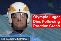 Olympic Luger Dies Following Practice Crash
