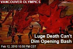 Luge Death Can't Dim Opening Bash