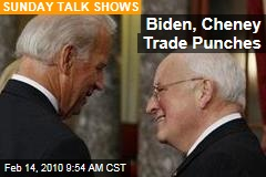 Biden, Cheney Trade Punches