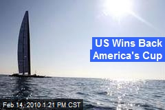 US Wins Back America's Cup