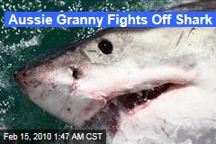 Aussie Granny Fights Off Shark