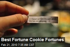 Best Fortune Cookie Fortunes