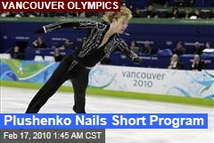 Plushenko Nails Short Program