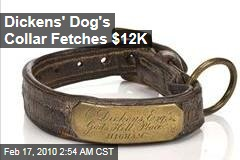Dickens' Dog's Collar Fetches $12K