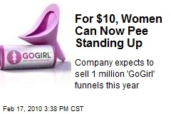 For $10, Women Can Now Pee Standing Up