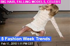 5 Fashion Week Trends
