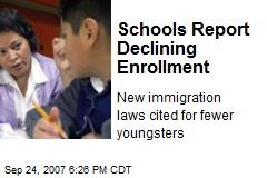 Schools Report Declining Enrollment