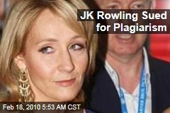 JK Rowling Sued for Plagiarism