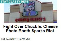 Fight Over Chuck E. Cheese Photo Booth Sparks Riot