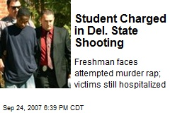 Student Charged in Del. State Shooting