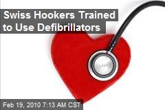 Swiss Hookers Trained to Use Defibrillators