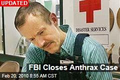 FBI Closes Anthrax Case